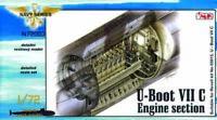 CMK 129-N72003 - U-Boot Typ VII C Maschinenraum - Neu