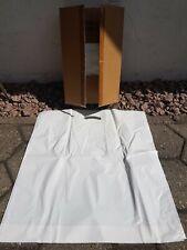 250 TRAGETASCHEN 55x60 weiß mit Griff 250 PLASTIKTÜTEN 55x60 weiß mit Griff NEU