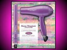"BABYLISS PRO 1"" NANO TITANIUM ULTRA THIN STRAIGHTENER FLAT IRON HAIR BLOW DRYER"