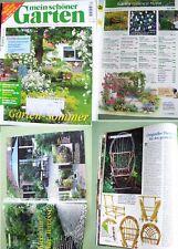 mein schöner Garten Zeitschrift Sammlung Ausgabe 4/99 Thronsessel Bauanleitung