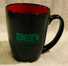 Rare BET Black Entertainment Television Mug Cable TV Channel Centric