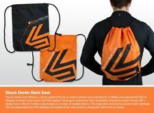 Shock Doctor Sackpack Orange Black String Bag Cinch Sling Gear Bag- NWT New!