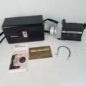 Vintage Nikon Super Zoom 8 Movie Camera. Untested