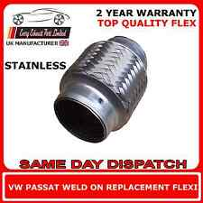 VW Passat 2.8 V6 4motion 1996-00 Exhaust Repair Flexi Flex Replacement Cat Pipe