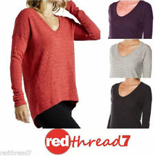 Polyester Textured Scoop Neck Jumpers & Cardigans for Women