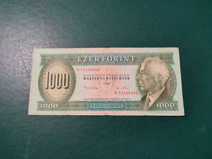 Hungary Banknotes 1000 Forint 1993  !!!!!