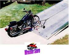 Motorcycle Dolly / Cycle Loader for Rollback, Car Carrier, Tow Truck, Car Hauler
