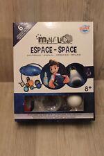 Coffret science pour enfants Mini Lab Espace - Buki - 6 expériences - comme neuf