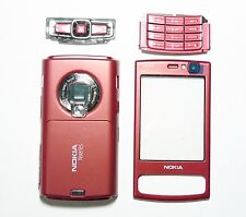 Red full Houing cover fascia facia case faceplate for Nokia N95 8gb