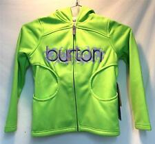 Burton Youth Girls Bonded Empress Fleece Hoodie Sonic Green Size Medium NEW