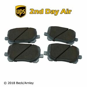 Beck/Arnley Ceramic Front Disc Brake Pad Set for Pontiac Toyota 085-1697