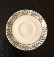 Vintage Royal Paris Signed Hand Painted Saucer; Cofee; Tea Cup