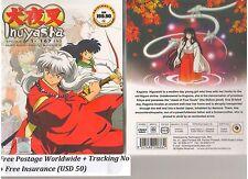 JAPAN DVD Anime INUYASHA Complete Boxset Series Tv 1-167 End English