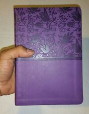 KJV Deluxe Gift Bible, Purple LeatherTouch HOLMAN King James Version FREE SHIPPI