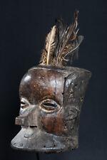 Pende Kipoko Helmet Mask, D.R. Congo, African Tribal Masks