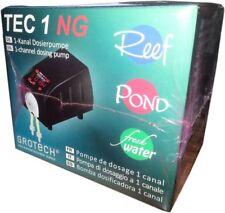 GroTech Tec 1 1-Kanal Dosierpumpe mikroprozessorgesteuert 1-99 ml bis zu 24x/Tag