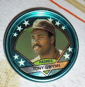 TONY GWYNN -- 1990 TOPPS METAL COIN --  #36 -- MINT CONDITION