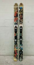 Volkl Bridge 161cm Twin-Tip All-Mountain Freestyle Skis w/Rossignol 120 Bindings