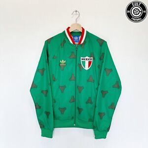 1978 MEXICO Retro adidas Originals Football Track Top Jacket (M) Tango