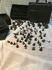 World of Warhammer Bundle~Citadel Black Battle Case + Play Figures Plastic/Metal