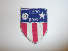 b1799 WW2 US Army CBI Ledo Road patch hand emb China Burma India R4C