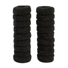 Accessori neri in schiuma per l'acconciatura dei capelli