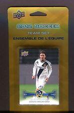 2012 Soccer LA Galaxy Team Set David Beckham Sealed 060717jh