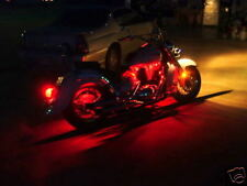 RED LED BODY KIT LIGHTS HONDA SHADOW VTX VT1100