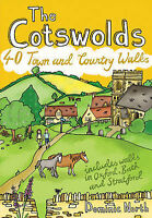 The Cotswolds. 40 Town and Country Walks by North, Dominic (Paperback book, 2014