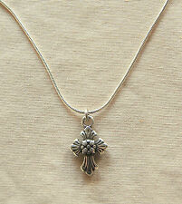 New BRIGHTON Sanctum Cross SERAPHIM charm on custom necklace  FREE SHIPPING !