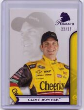 Clint Bowyer 2011 Press Pass Premium Ser#d 22/25 PURPLE