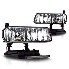 Fit for 2000 2001 2002 2003 2004 2005 2006 Tahoe Fog Light Assembly Clear lens