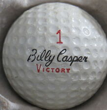 (1) BILLY CASPER VICTORY SIGNATURE LOGO GOLF BALL (CIR 1970) #1