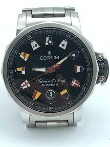 CORUM Admiral's Cup Trophy Men's Automatic 41mm Nautical Flag  Black 01.0003