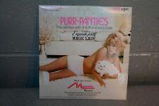 Nip Vtg 70s Nos White Stretch Purr Panties Magic Lady Briefs Exquisite Form 928