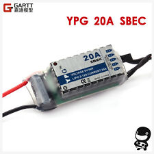 High Quality YPG 20A SBEC brushless ESC for RC Helicopter NEW