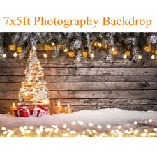 7x5ft Christmas Tree Gift Wall Photography Background Photo Backdrop Prop Xmas