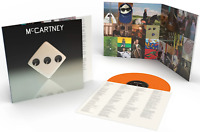 MCCARTNEY III VINYL NEW! EXCLUSIVE LIMITED TO 3000 EDITION ORANGE LP! PAUL THREE