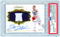DONTE DIVINCENZO 2018 Panini Flawless Collegiate RPA ROOKIE PATCH AUTO RC PSA