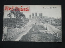 York Collectable Unknown English County Postcards