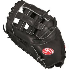 "Rawlings Heart of the Hide Black First Base Baseball Mitt 12.25"" RH PROFM20B"