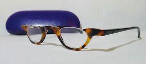 """EYEBOBS +1.25 """"TOPLESS"""" 2110  35-29 Reading Glasses Tortoise/Black frames"""