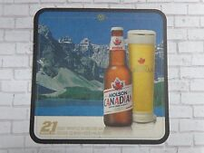 Beer Breweriana COASTER: MOLSON Canadian Brewery ~ Brewing Since 1786 ~ Mountain