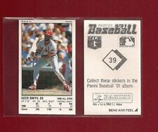 1991 Panini Baseball Sticker St.Louis Cardinals #39 Ozzie Smith