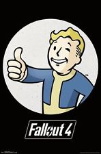 FALLOUT 4 - VAULT BOY POSTER - 22x34 VIDEO GAME 14725
