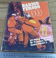 1971.Hardie Ferodo 500 Bathurst.Official PROGRAMME.Torana XU1.FALCON GTHO.Brock