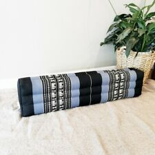 80cm Long Bolster Pillow Yoga Block cushion Natural Kapok Filling