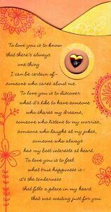 Love & Romance Loving You Makes Me So Happy Hallmark Greeting Card