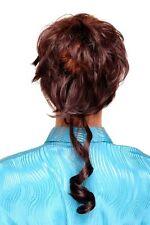 partie de cheveux avec peigne volumineux bouclé baroque marron yzf-3072ht-6