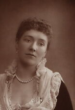 c1890 ORIGINAL CABINET CARD PORTRAIT PHOTOGRAPH THE COUNTESS OF GROSVENOR